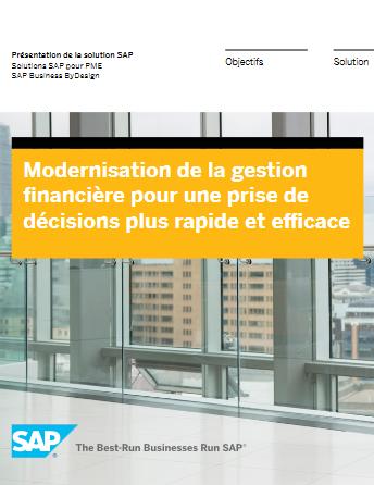 Modernisation de la gestion financière pour une prise de décisions plus rapide et efficace