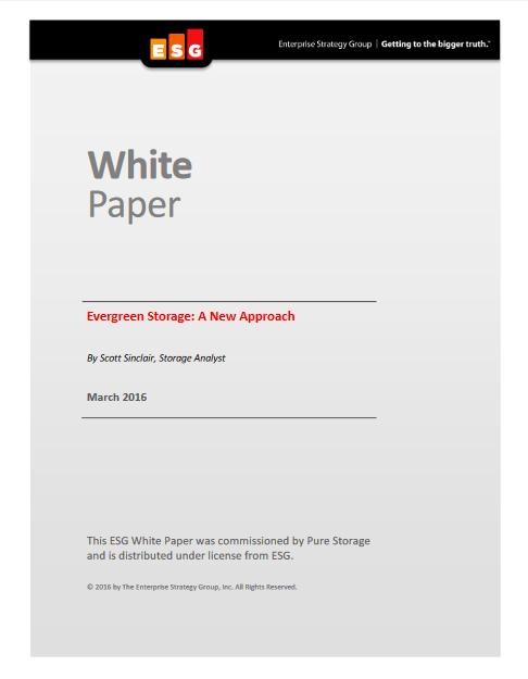 Stockage Evergreen : une nouvelle approche en matière de gestion de données