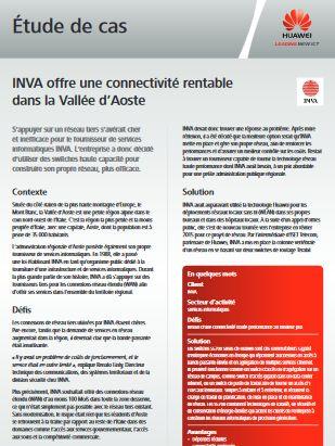 INVA offre une connectivité rentable  dans la Vallée d'Aoste