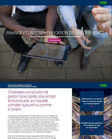 Check-list ERP du DAF: 3 questions-clés sur la conformité financière à considérer