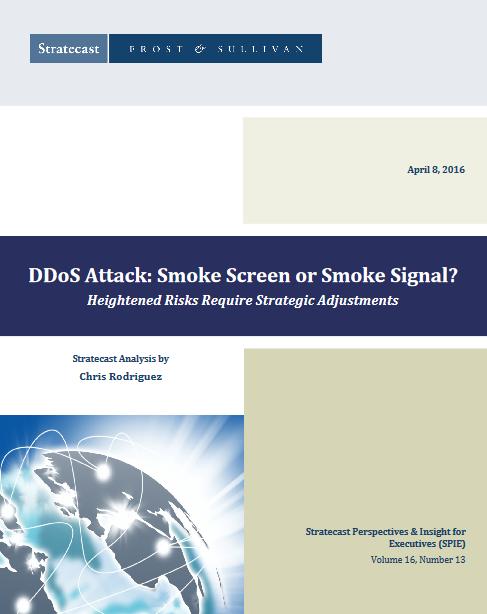 Attaques DDoS : écran de fumée ou signal de fumée ?
