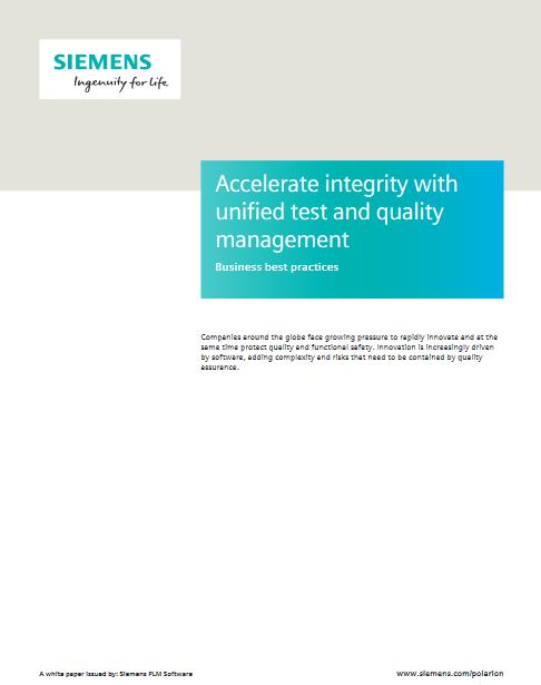 Accélérer l'intégrité avec des tests unifiés et un management de qualité