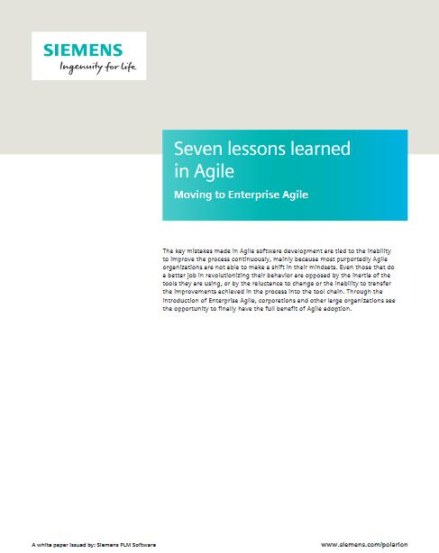 7 leçons sur l'agilité