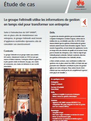 Le groupe Feltrinelli utilise les informations de gestion en temps réel pour transformer son entreprise