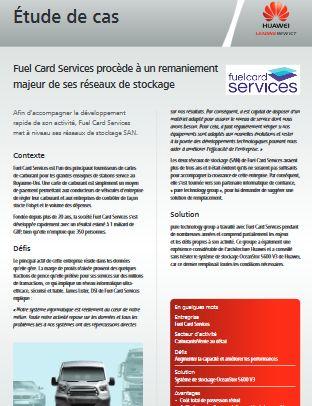 Fuel Card Services procède à un remaniement majeur de ses réseaux de stockage