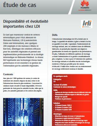 Disponibilité et évolutivité importantes chez LDI