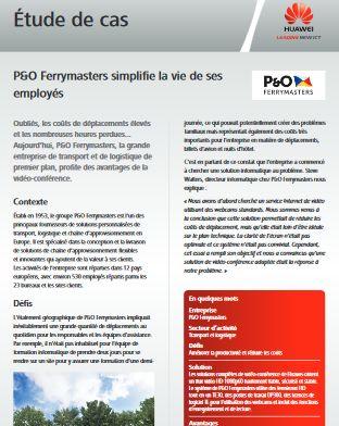 P&O Ferrymasters simplifie la vie de ses employés