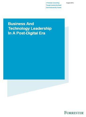 Entreprise et technologie à l'ère post-digitale