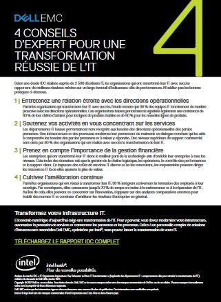 4 conseils d'expert pour une transformation réussie de l'IT