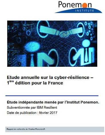 Étude annuelle sur la cyber-résilience