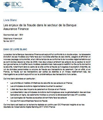 Les enjeux de la fraude dans le secteur de la Banque Assurance Finance