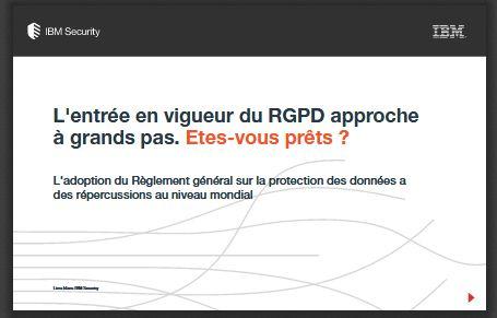 L'entrée en vigueur du RGPD approche à grands pas. Êtes-vous prêts ?