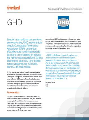 Cas client : comment GHD a-t-elle amélioré son agilité opérationnelle, réduit ses coûts et renforcé le collaboratif