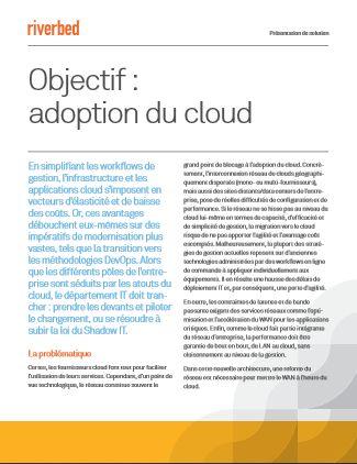 Développez votre architecture centrée sur le cloud grâce au SD-WAN