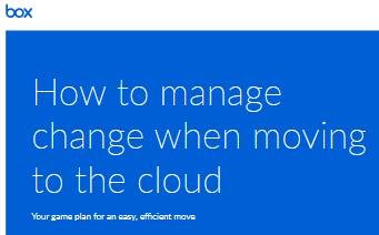 Comment gérer le changement lors du passage au cloud