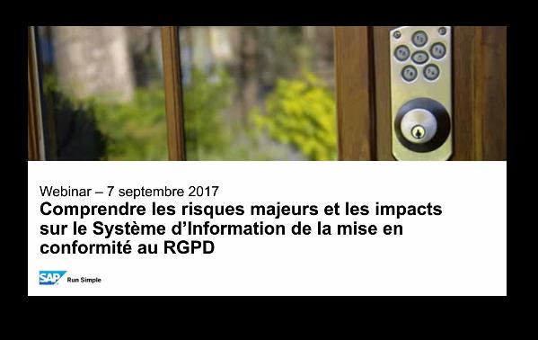 Quels risques et impacts dans la mise en conformité au RGPD