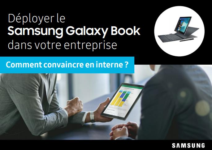Déployer le Samsung Galaxy Book dans votre entreprise