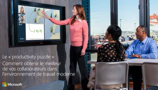 Le « productivity puzzle » : Comment obtenir le meilleur de vos collaborateurs dans l'environnement de travail moderne
