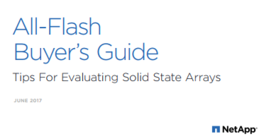 Comment évaluer le stockage All Flash ?
