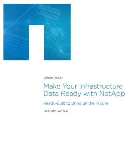 Préparez votre infrastructure à la data avec NetApp