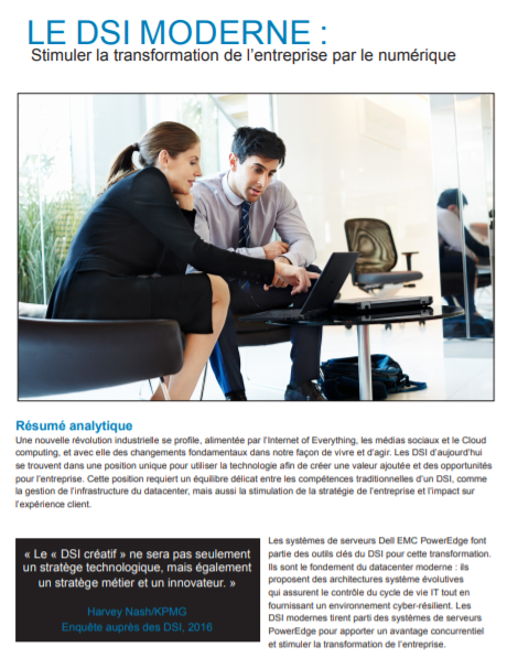 Le DSI moderne : Stimuler la transformation de l'entreprise par le numérique