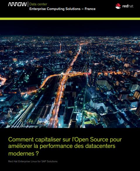Comment capitaliser sur l'Open Source pour améliorer la performance des datacenters modernes ?