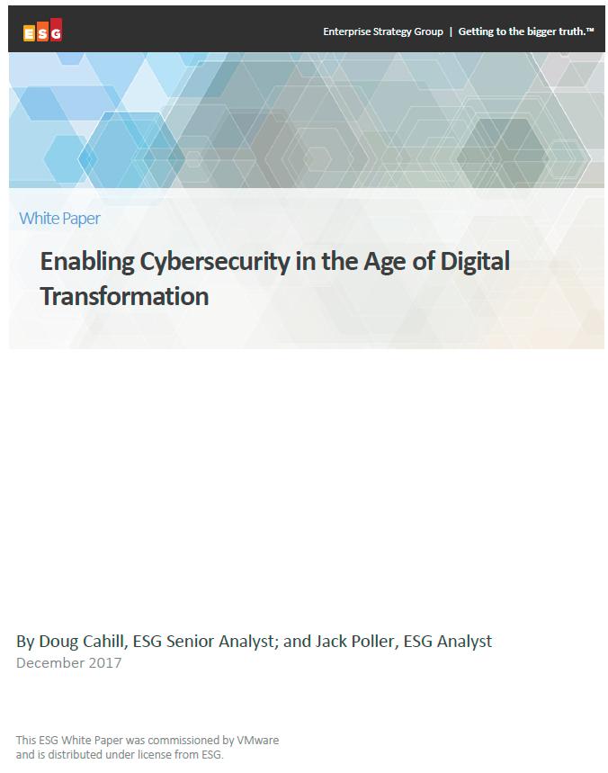 Permettre la Cybersecurité à l'ère de la transformation digitale