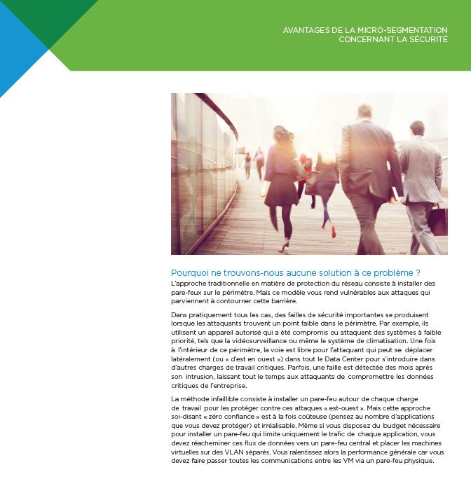 Présentation des avantages de la micro-segmentation concernant la sécurité