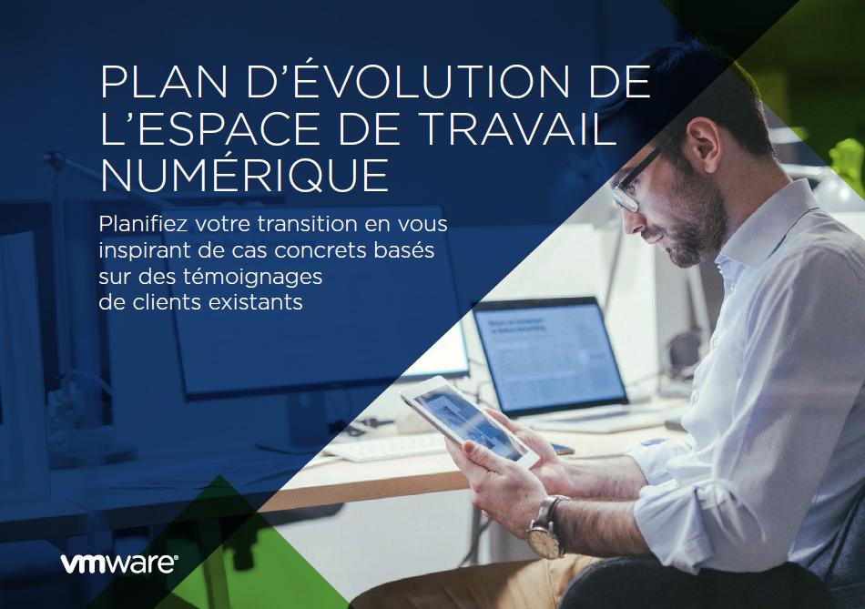Plan d'évolution de l'espace de travail numérique