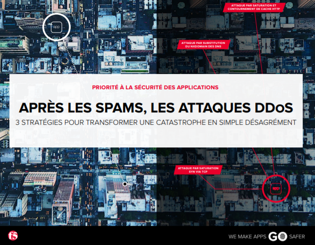 Après les spams, les attaques DDOS : 3 stratégies pour transformer une catastrophe en simple désagrément