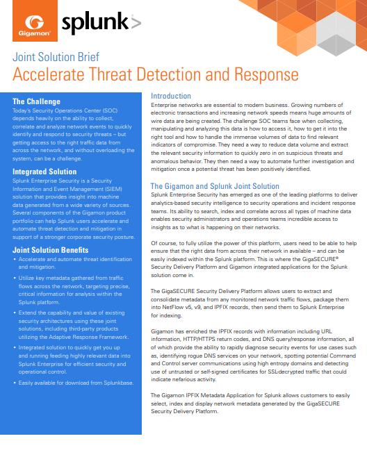 Accélérer la détection et la réponse des menaces