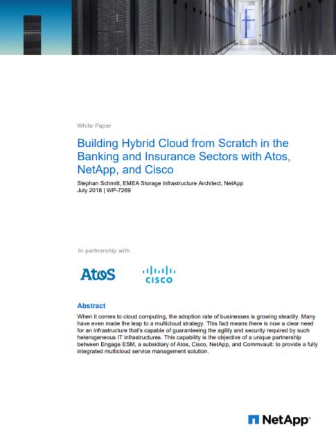 Comment construire un cloud hybride en partant de rien dans les secteurs de la banque et de l'assurance ?