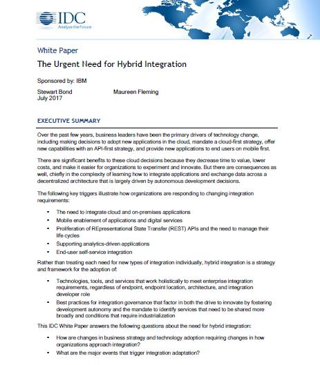 L'importance de l'Intégration hybride