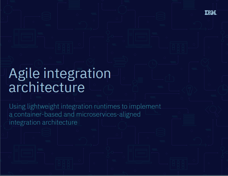 Intégration de l'architecture agile