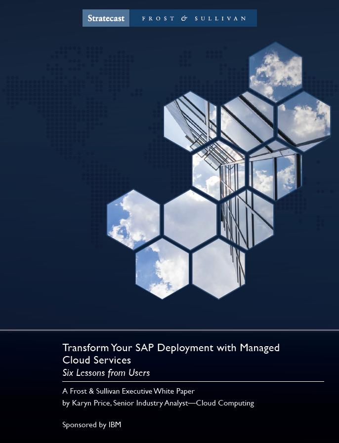 Transformez le déploiement de votre SAP avec des Services de Gestion du Cloud