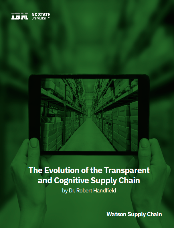 L'évolution d'une Supply Chain Transparente et Cognitive