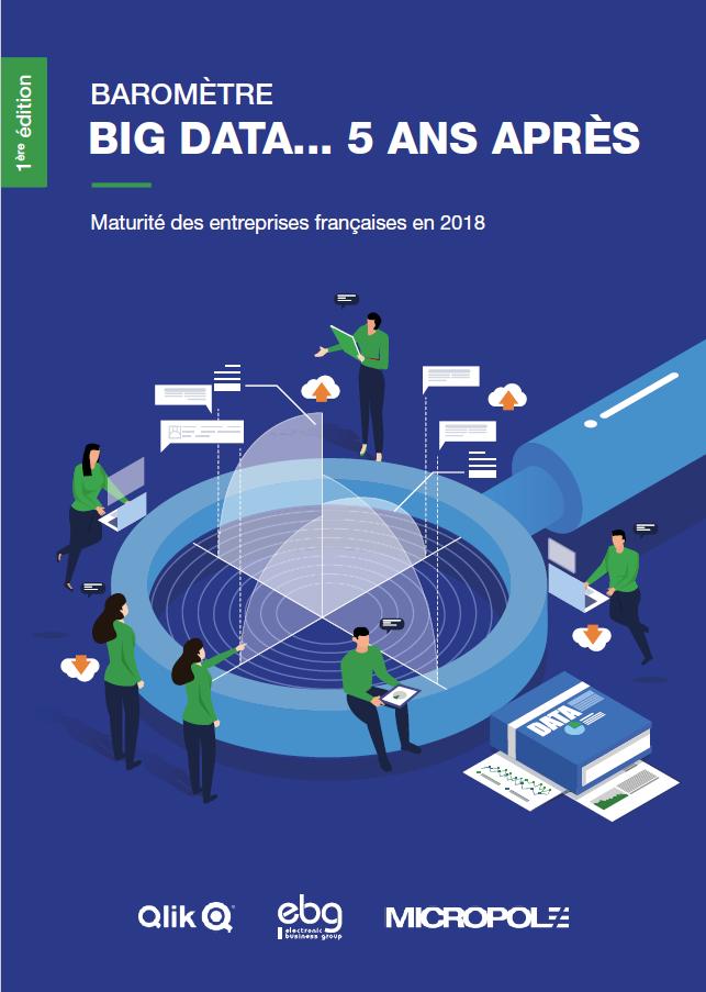 Big Data : maturité des entreprises françaises fin 2018