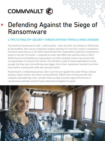 Se défendre contre les ransomwares