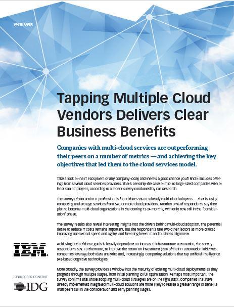 L'exploitation de multiple fournisseurs cloud pour un business réussi