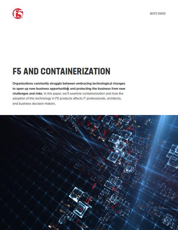 F5 et la conteneurisation