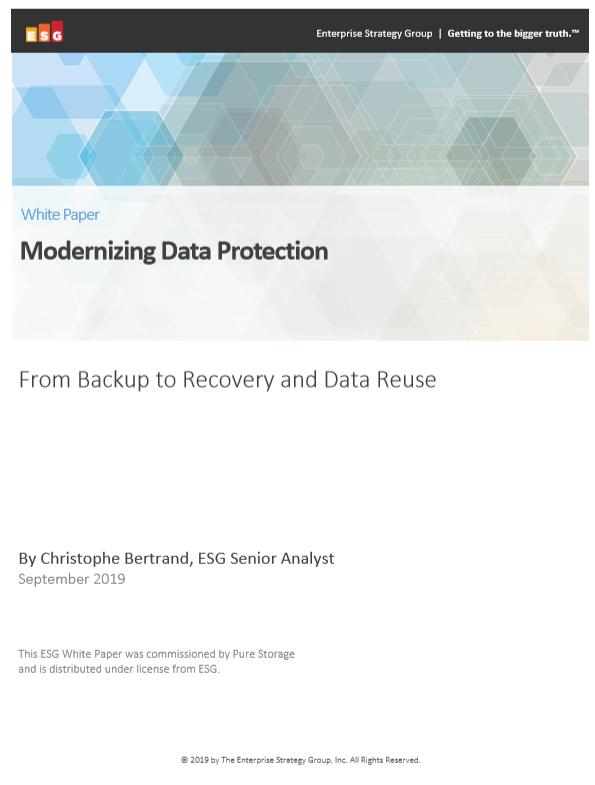 Modernisation de la protection des données