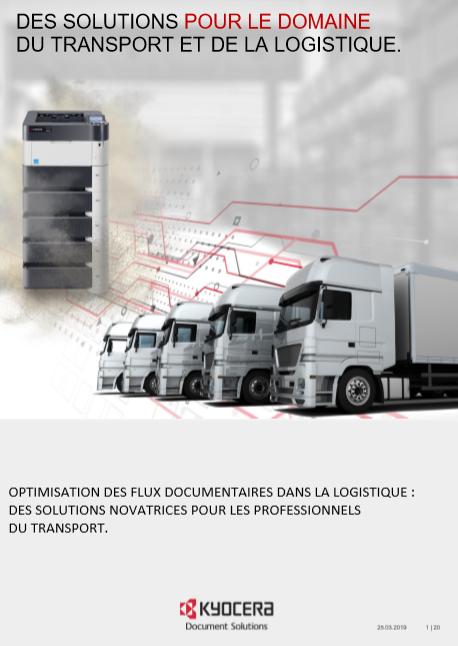 Optimisation des flux documentaires dans la logistique : des solutions novatrices pour les professionnels du transport