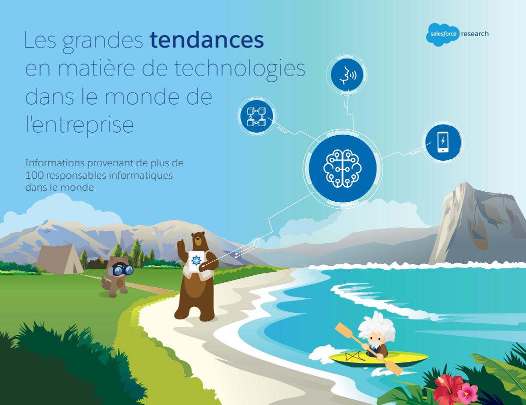 Les grandes tendances en matière de technologies dans le monde de l'entreprise