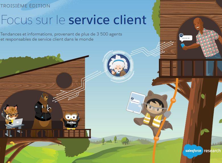Focus sur le service client