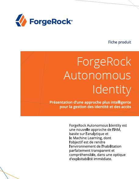 ForgeRock Autonomous Identity