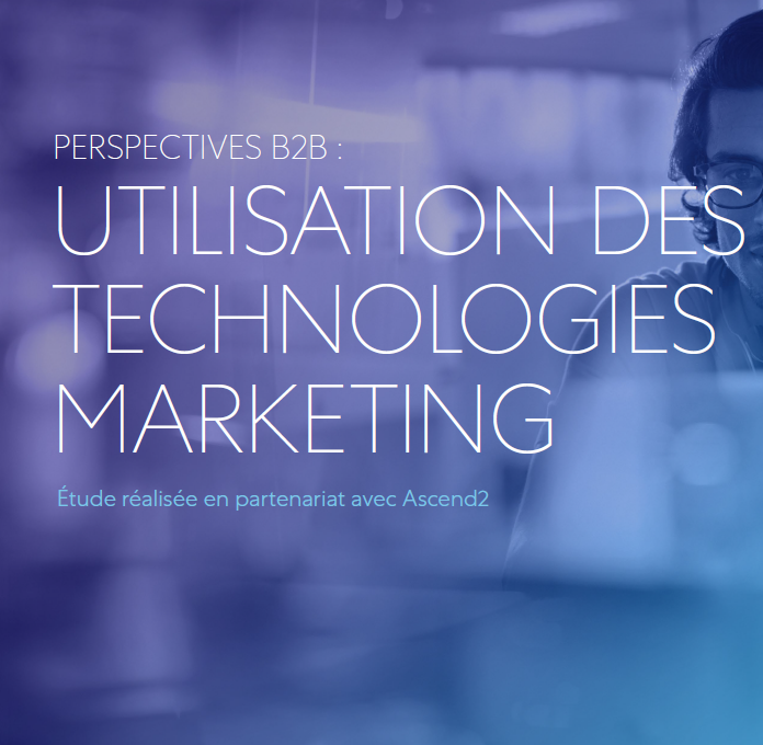 PERSPECTIVES B2B : UTILISATION DES TECHNOLOGIES MARKETING