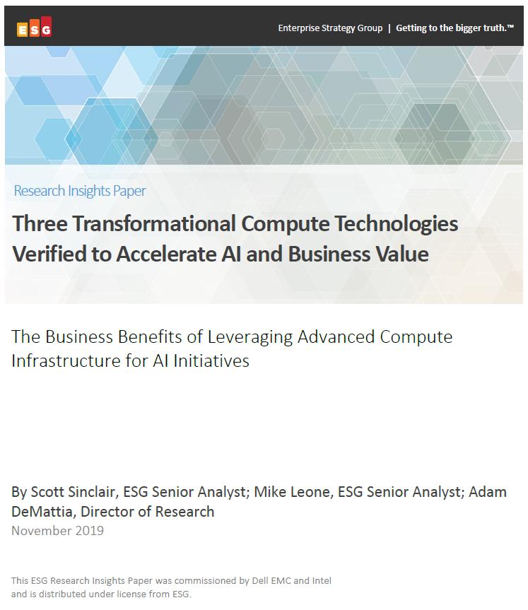 Trois technologies de calcul transformationnelles vérifiées pour accélérer l'IA et la valeur commerciale