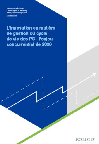 L'innovation en matière degestion du cycle de vie des PC: l'enjeu concurrentiel de 2020