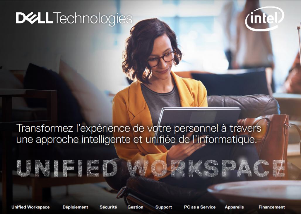 Transformez l'expérience de votre personnel à travers  une approche intelligente et unifiée de l'informatique.
