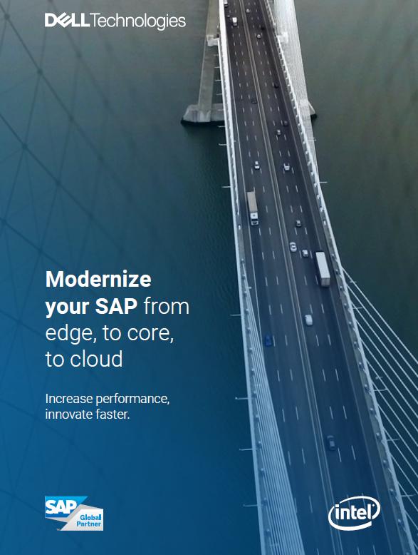 Modernisez votre SAP, de la périphérie au cœur, en passant par le cloud
